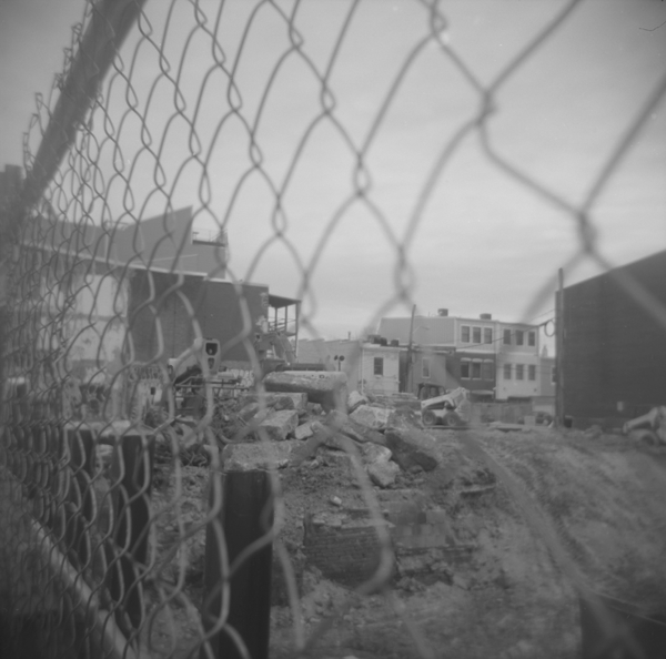 Small photo of Construction near 4th St. NE